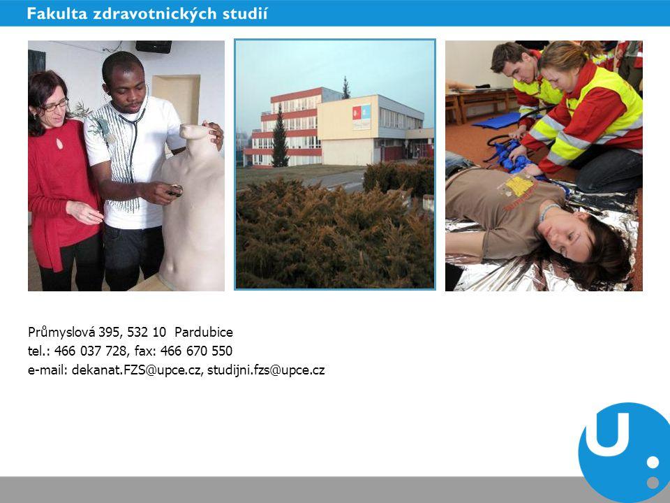 Průmyslová 395, 532 10 Pardubice tel.: 466 037 728, fax: 466 670 550.