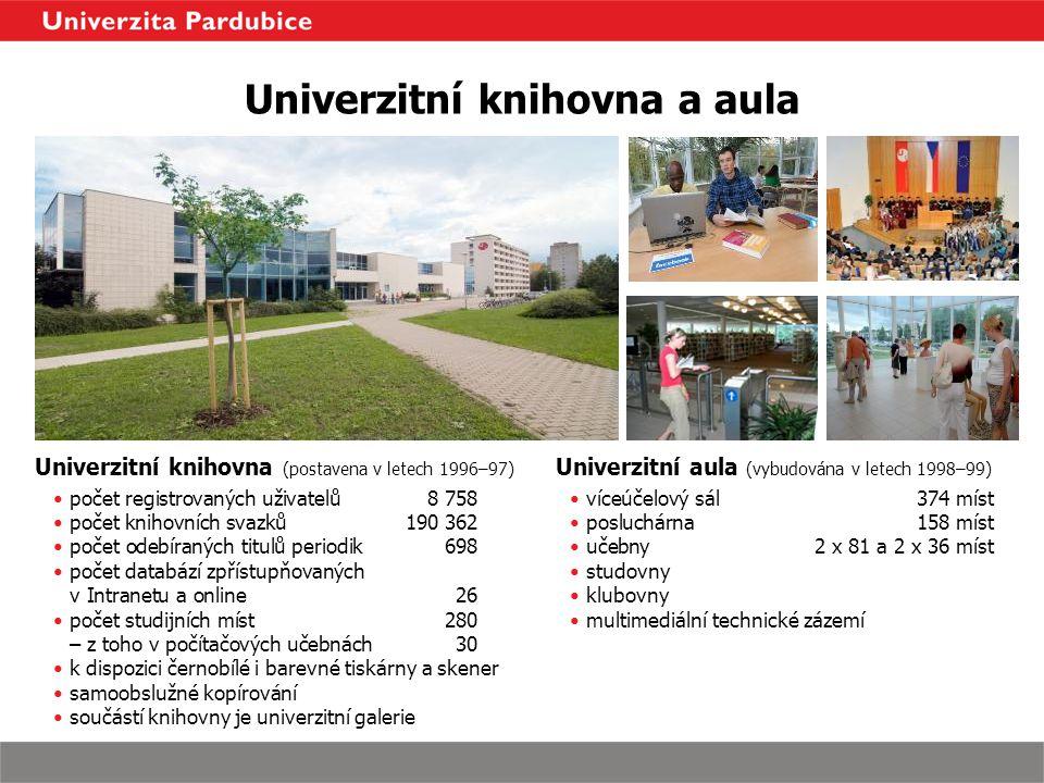Univerzitní knihovna a aula