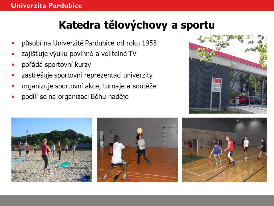 Katedra tělovýchovy a sportu