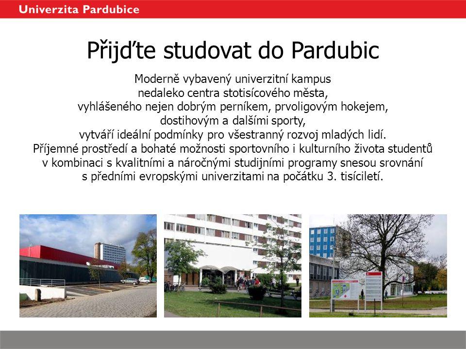 Přijďte studovat do Pardubic