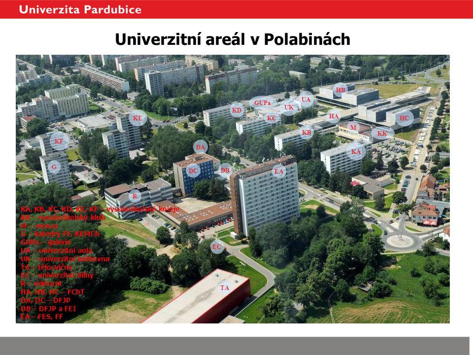 Univerzitní areál v Polabinách