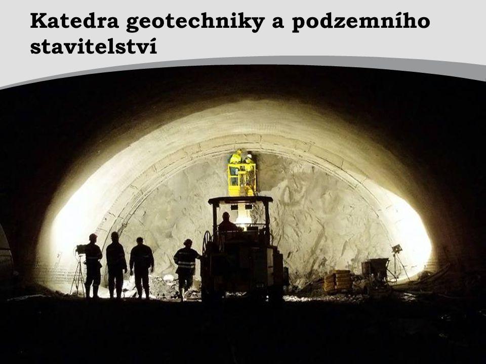 Katedra geotechniky a podzemního stavitelství