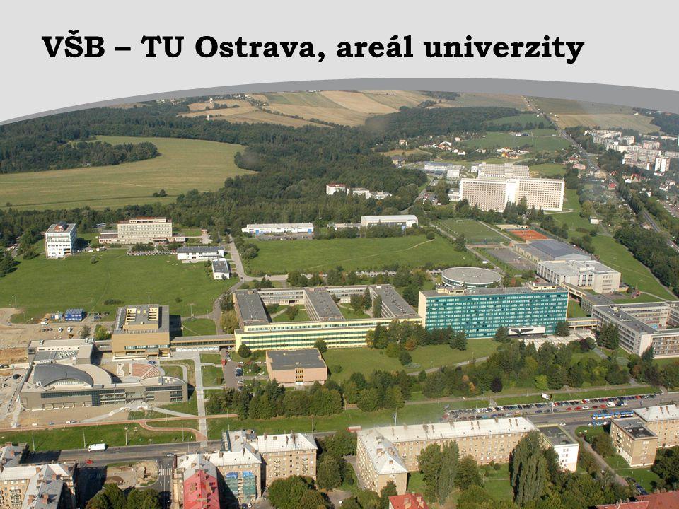 VŠB – TU Ostrava, areál univerzity