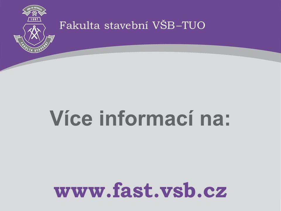 Fakulta stavební VŠB –TUO