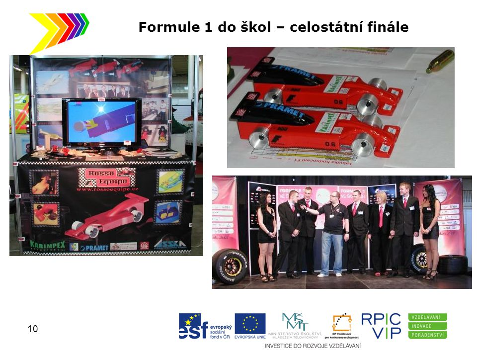 Formule 1 do škol – celostátní finále