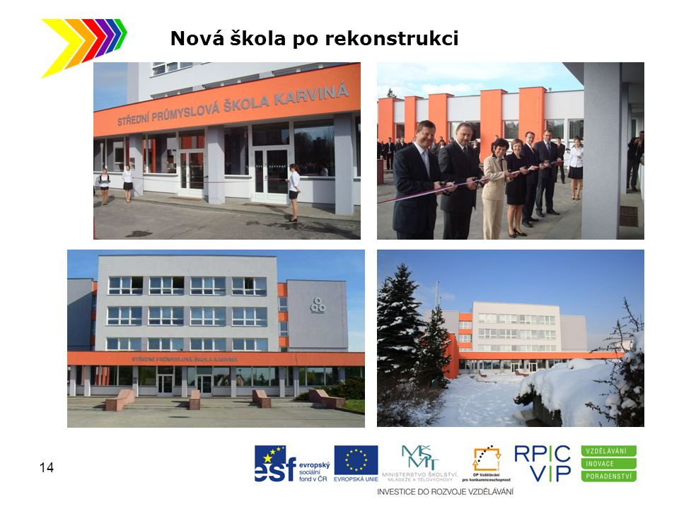 Nová škola po rekonstrukci