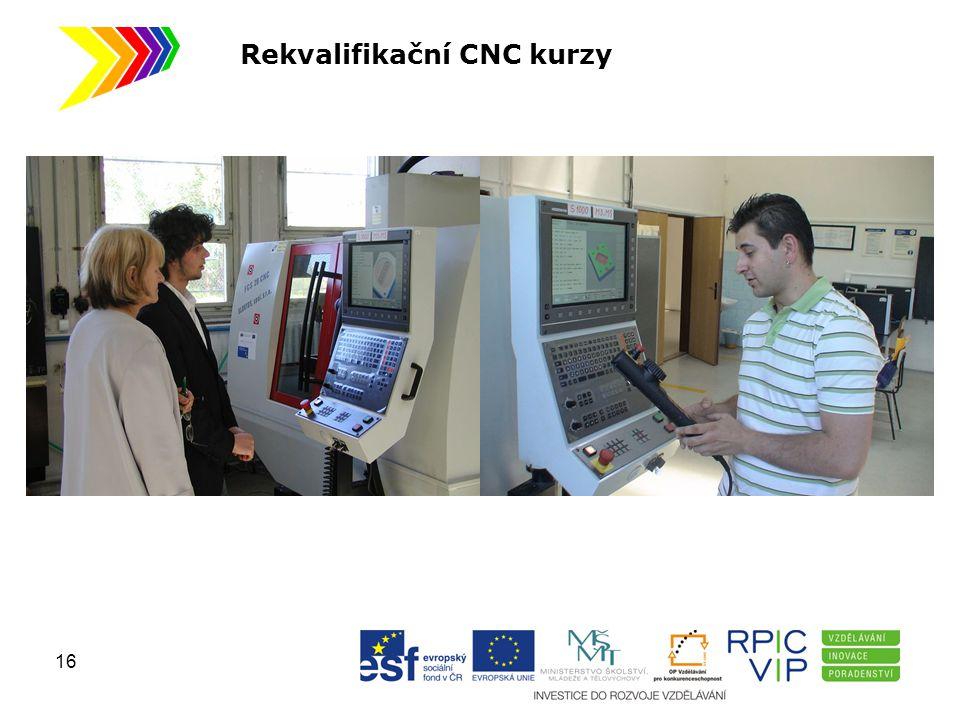 Rekvalifikační CNC kurzy