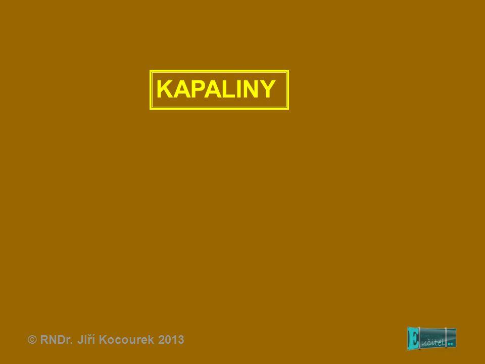 KAPALINY © RNDr. Jiří Kocourek 2013