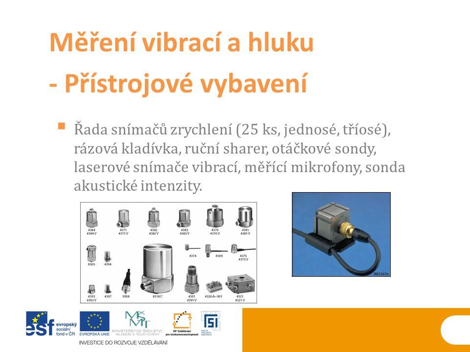 - Přístrojové vybavení