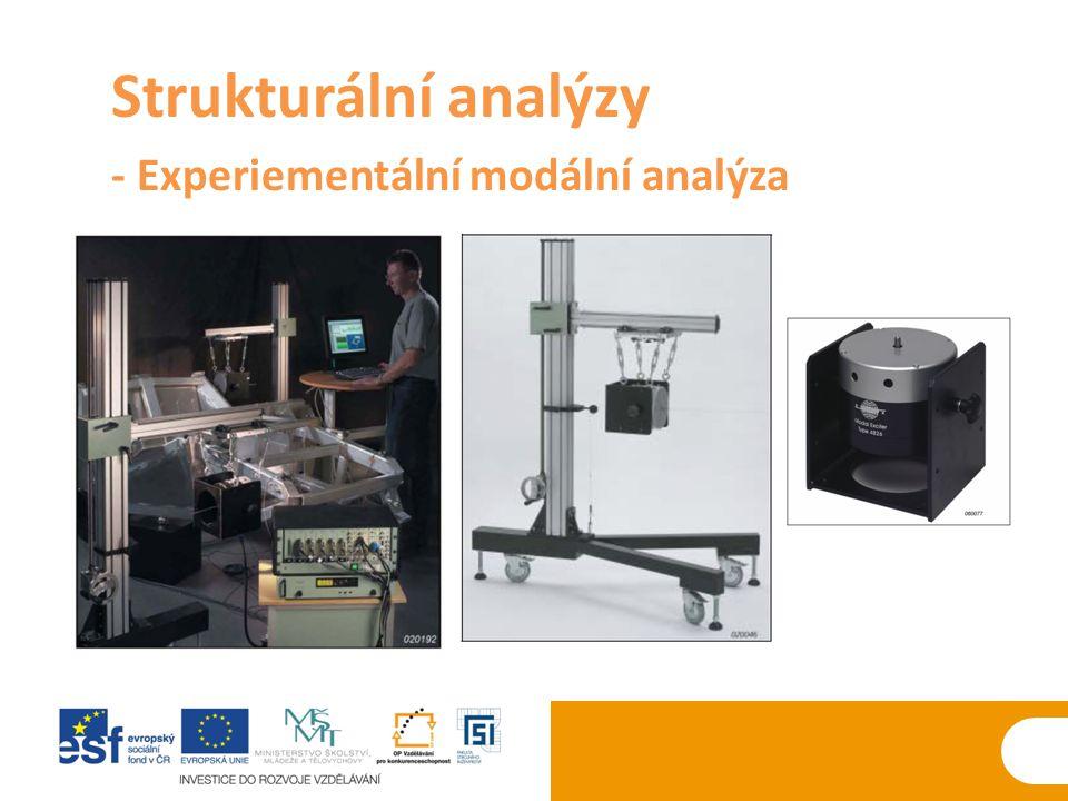 Strukturální analýzy - Experiementální modální analýza