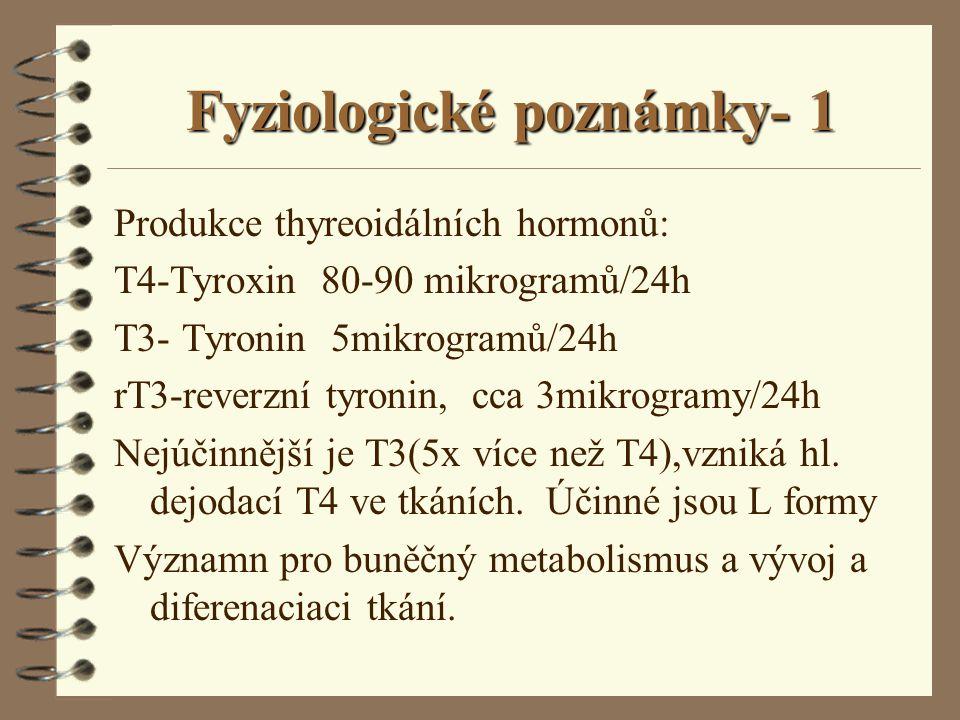 Fyziologické poznámky- 1