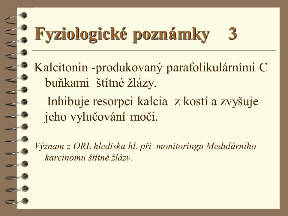 Fyziologické poznámky 3