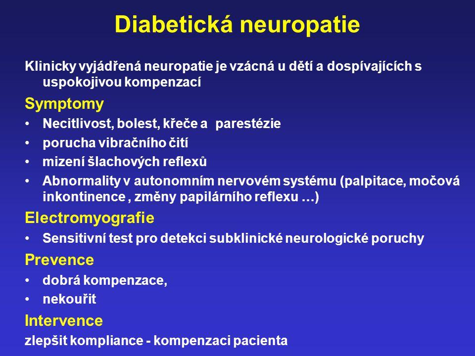 Diabetická neuropatie