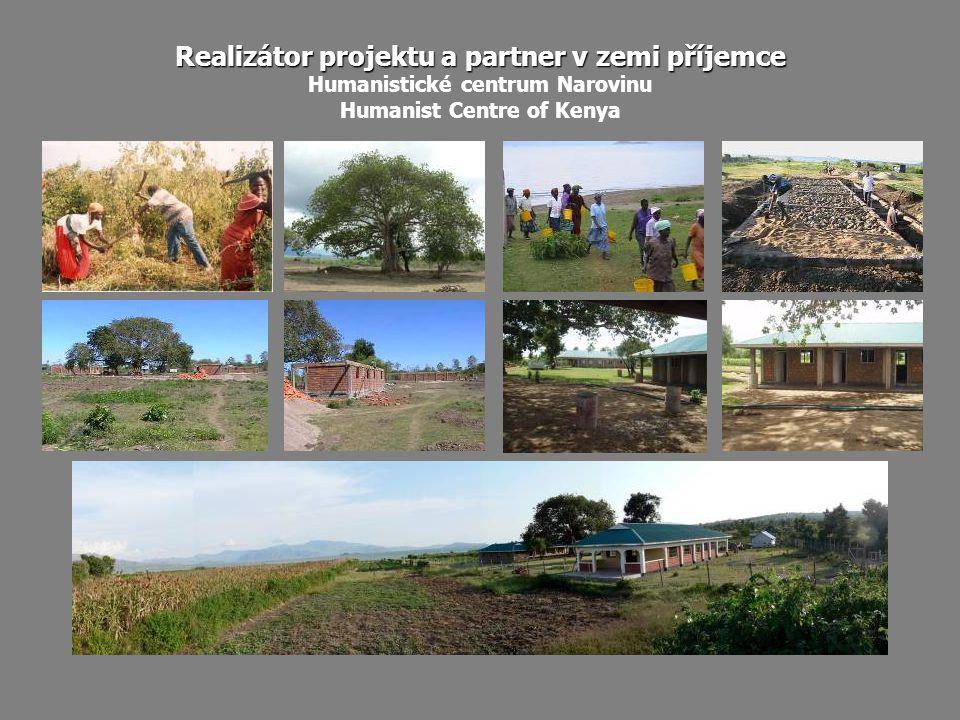 Realizátor projektu a partner v zemi příjemce Humanistické centrum Narovinu Humanist Centre of Kenya