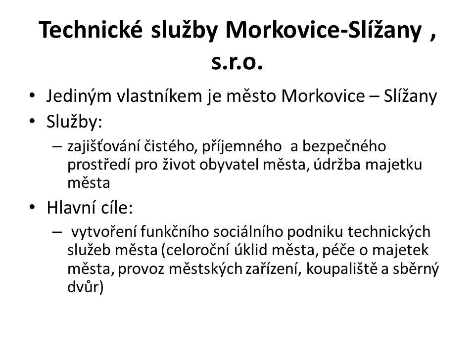 Technické služby Morkovice-Slížany , s.r.o.