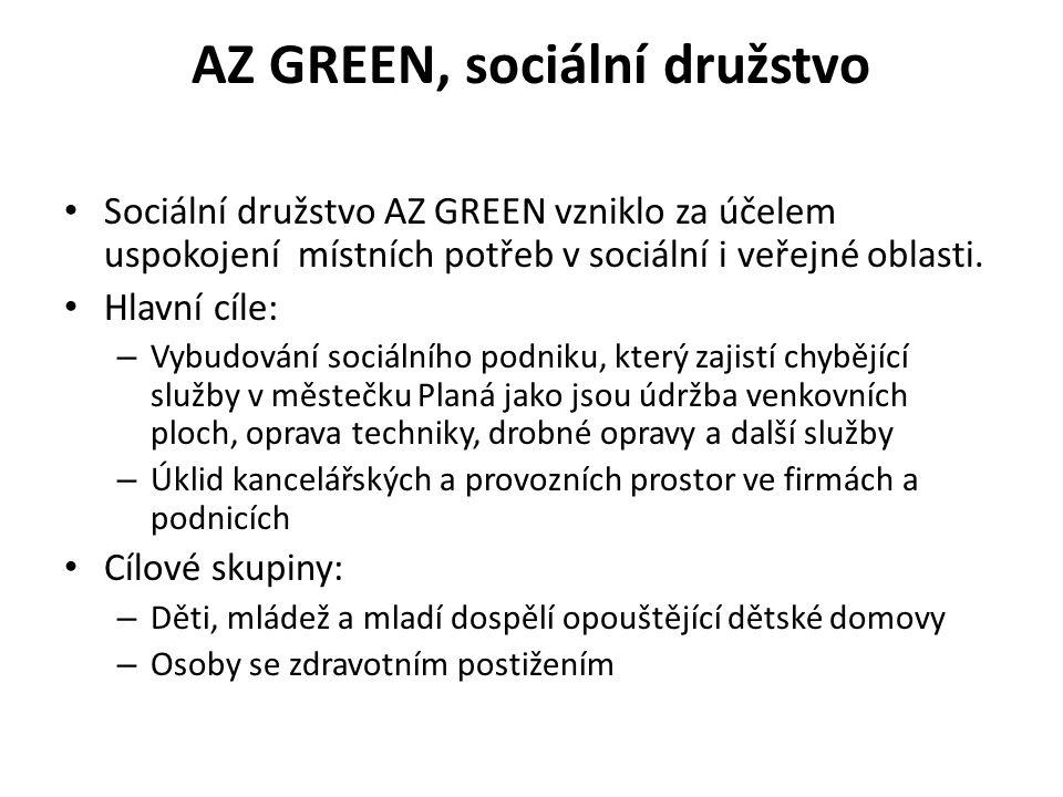 AZ GREEN, sociální družstvo