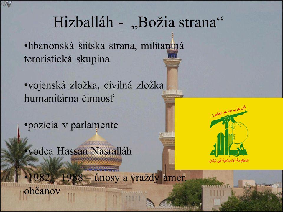 """Hizballáh - """"Božia strana"""