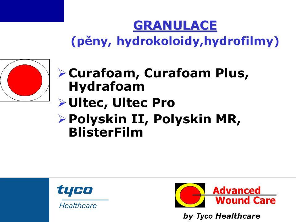 (pěny, hydrokoloidy,hydrofilmy)