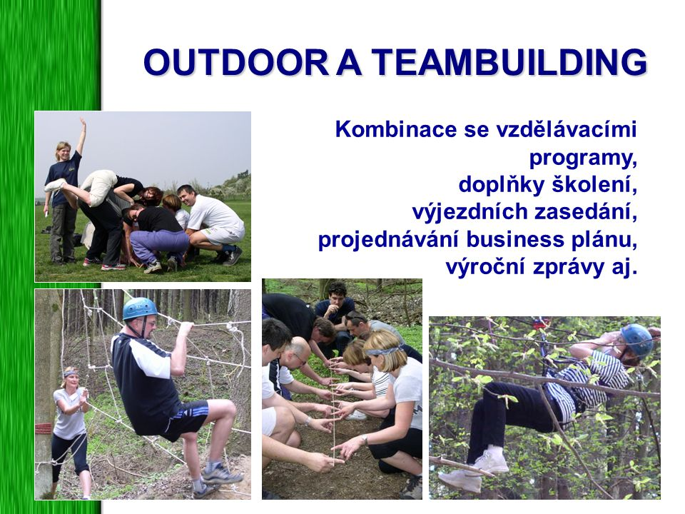 OUTDOOR A TEAMBUILDING