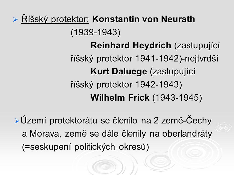 Říšský protektor: Konstantin von Neurath