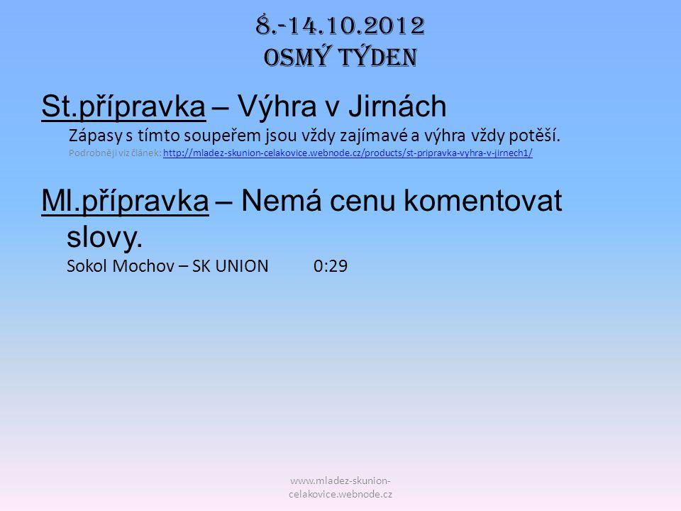 8.-14.10.2012 OSmý TÝDEN