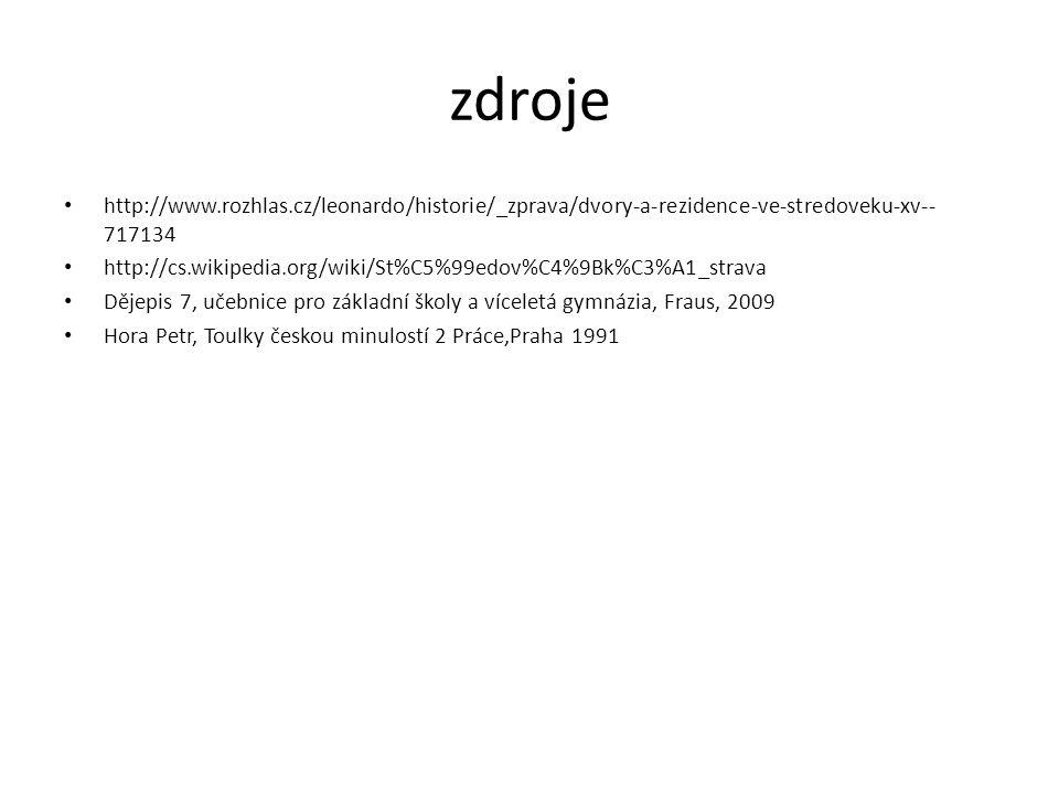 zdroje http://www.rozhlas.cz/leonardo/historie/_zprava/dvory-a-rezidence-ve-stredoveku-xv--717134.