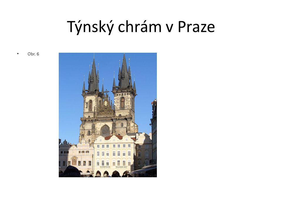 Týnský chrám v Praze Obr. 6