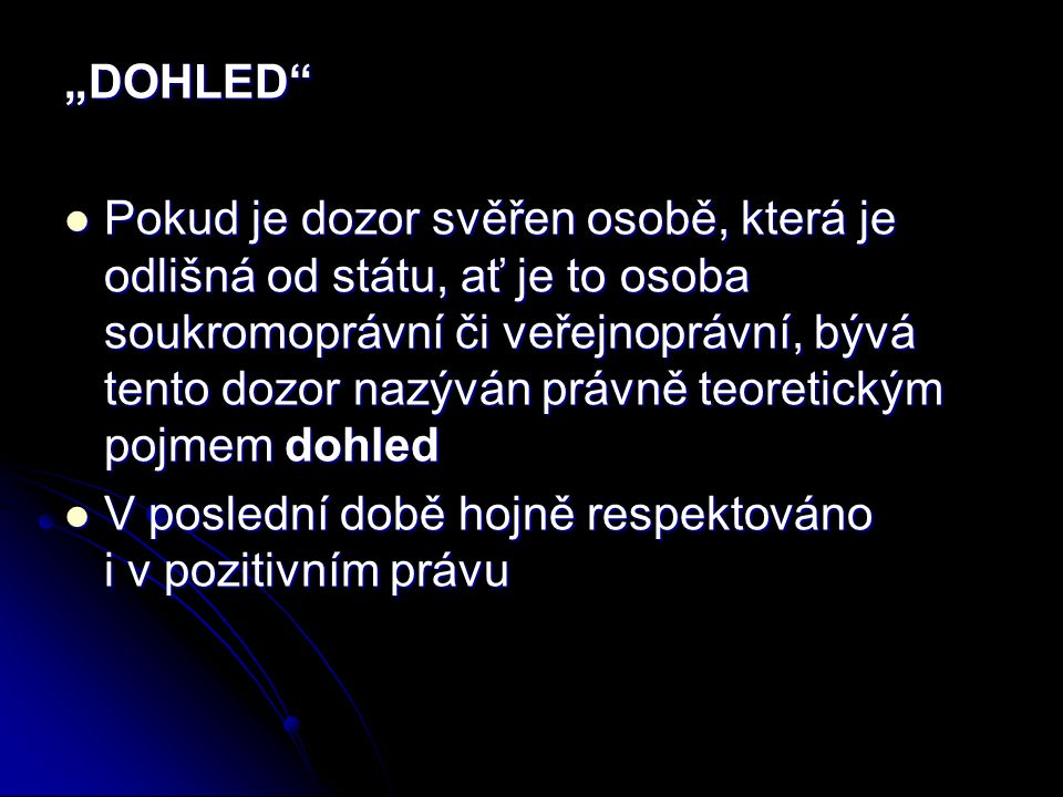 """DOHLED"
