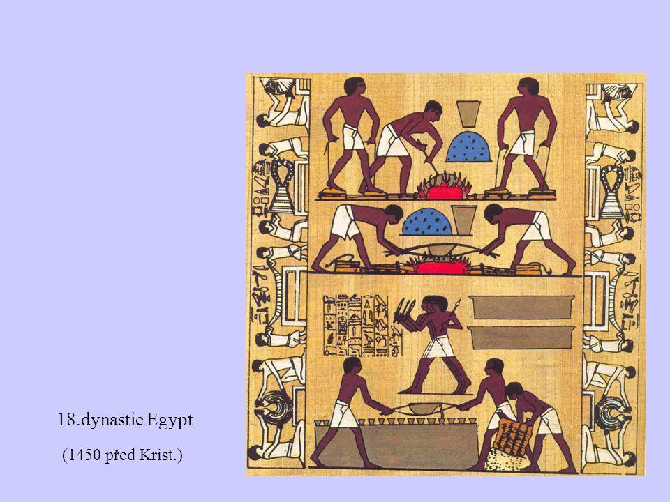 18.dynastie Egypt (1450 před Krist.)