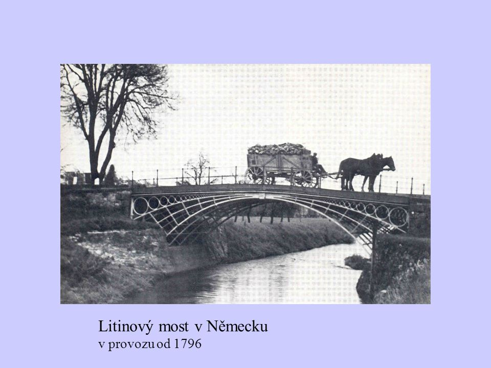 Litinový most v Německu