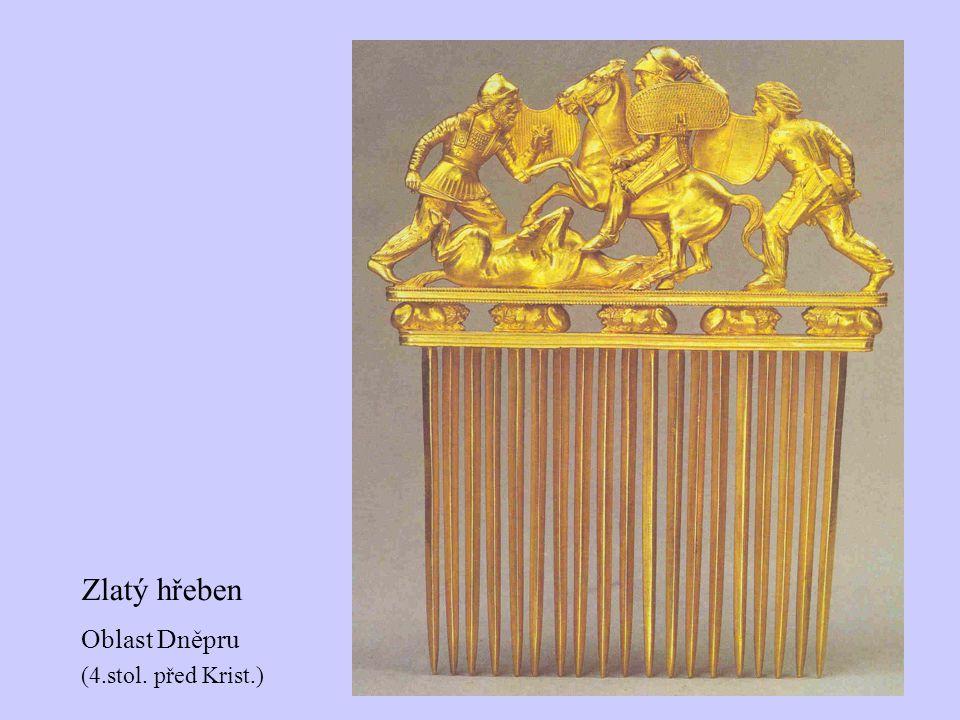 Zlatý hřeben Oblast Dněpru (4.stol. před Krist.)