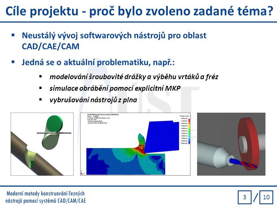 Cíle projektu - proč bylo zvoleno zadané téma