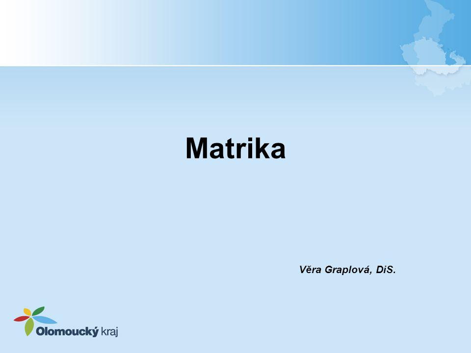 Matrika Věra Graplová, DiS.