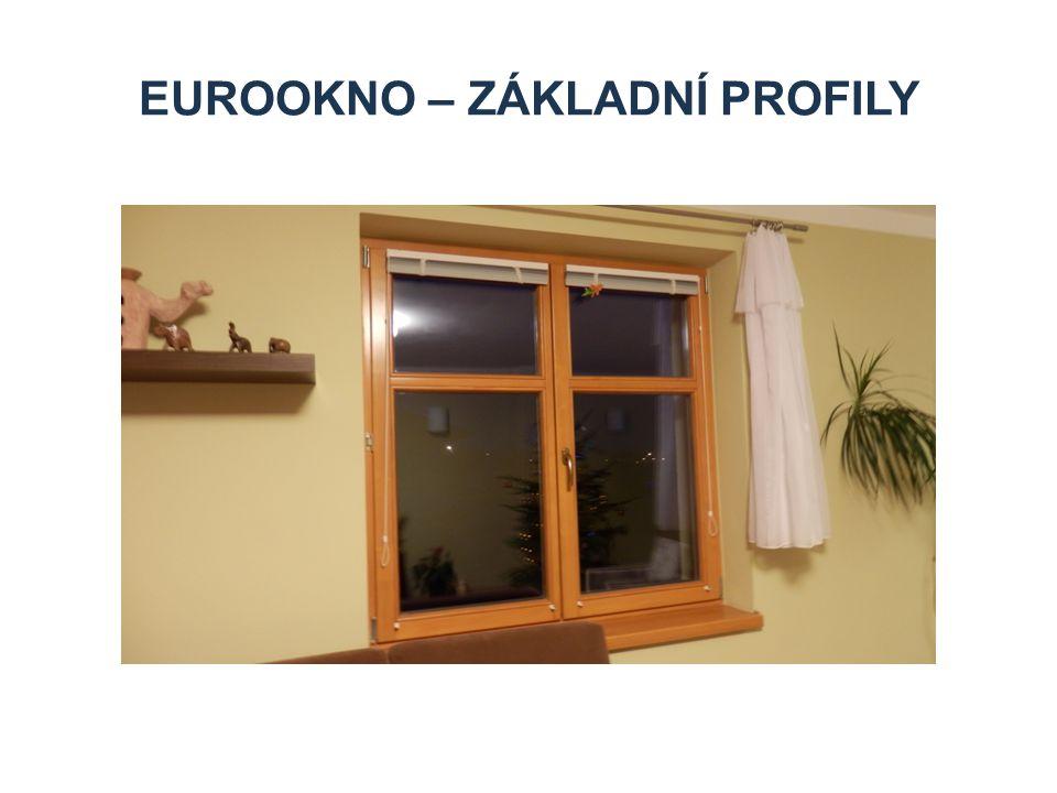 Eurookno – základní profily