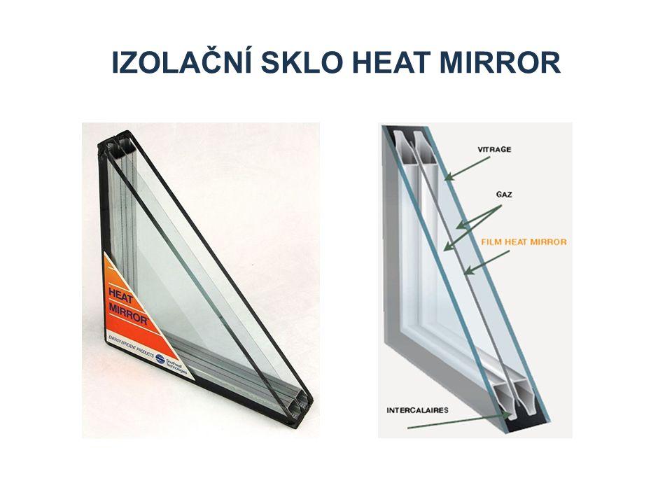 izolační sklo heat mirror