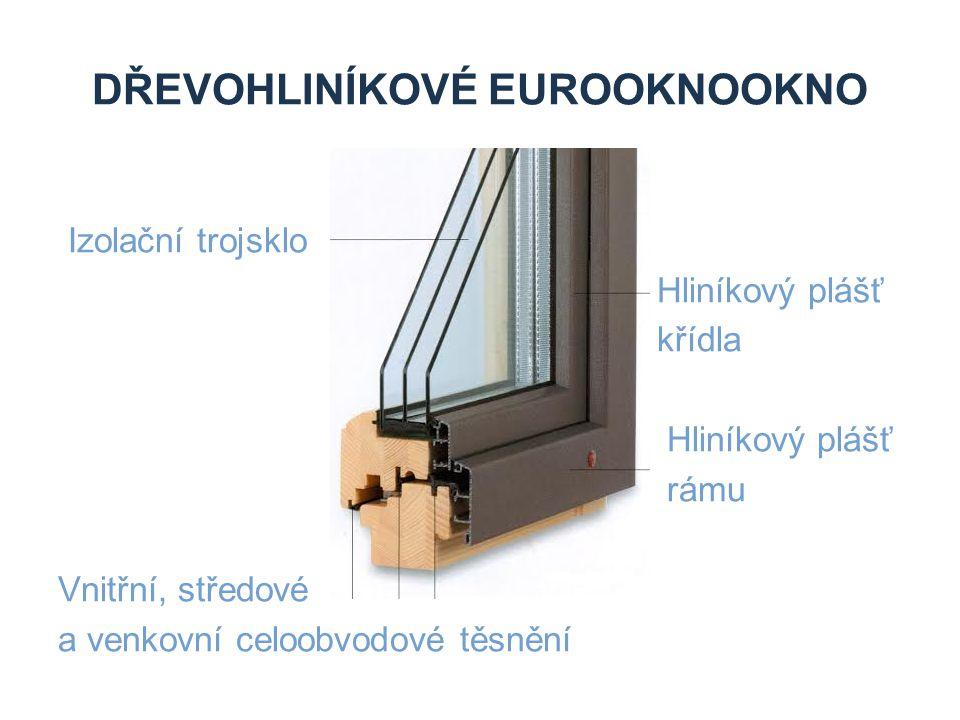 Dřevohliníkové eurooknookno