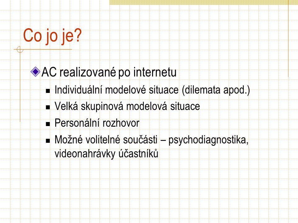 Co jo je AC realizované po internetu