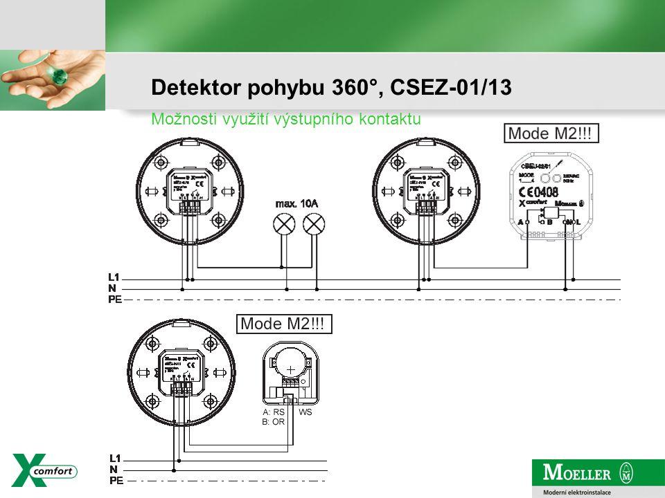 Detektor pohybu 360°, CSEZ-01/13