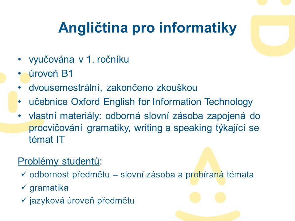 Angličtina pro informatiky