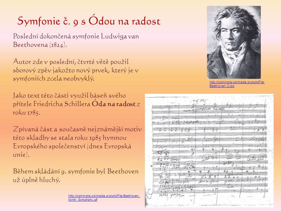 Symfonie č. 9 s Ódou na radost