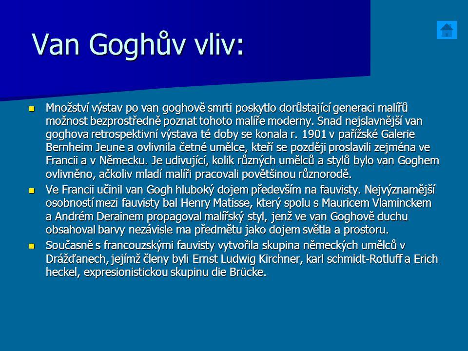 Van Goghův vliv: