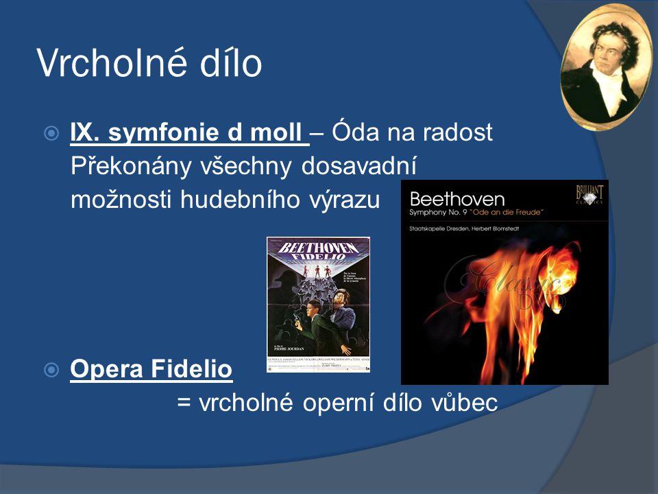 Vrcholné dílo IX. symfonie d moll – Óda na radost