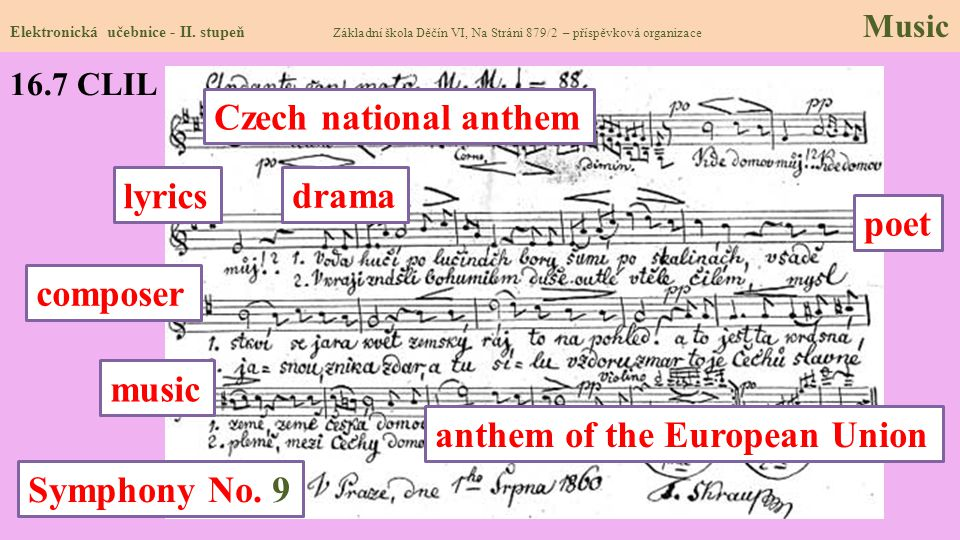 anthem of the European Union Symphony No. 9