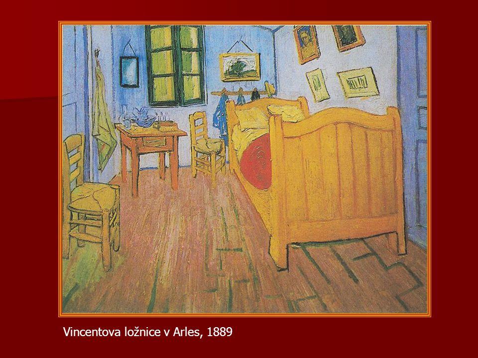 Vincentova ložnice v Arles, 1889