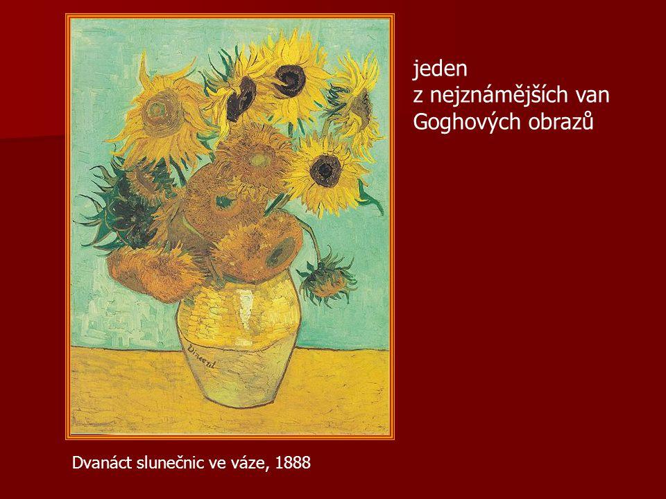 jeden z nejznámějších van Goghových obrazů