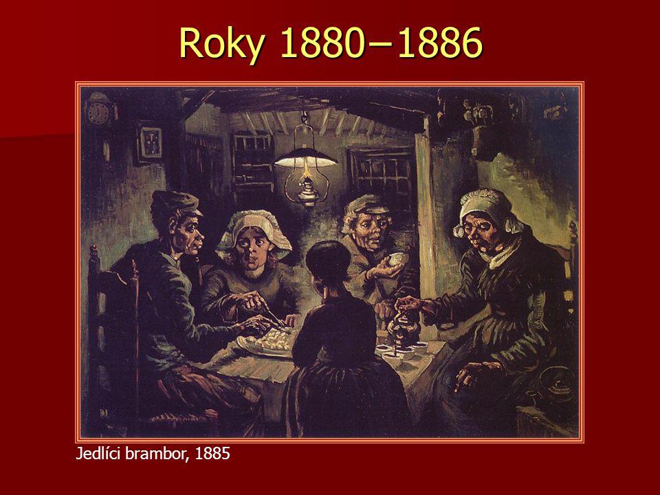 Roky 1880−1886 Jedlíci brambor, 1885