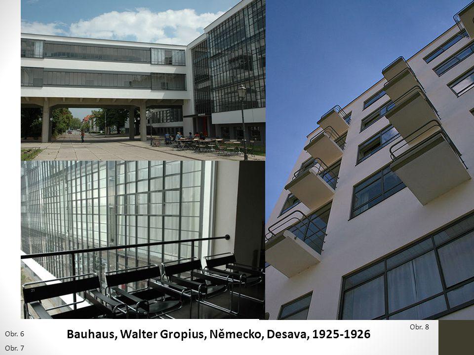 Bauhaus, Walter Gropius, Německo, Desava, 1925-1926
