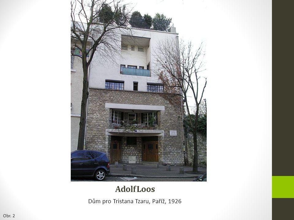 Dům pro Tristana Tzaru, Paříž, 1926