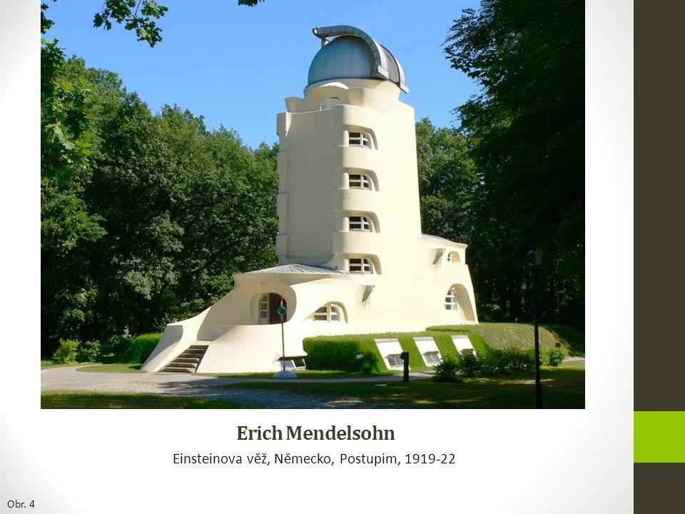Einsteinova věž, Německo, Postupim, 1919-22