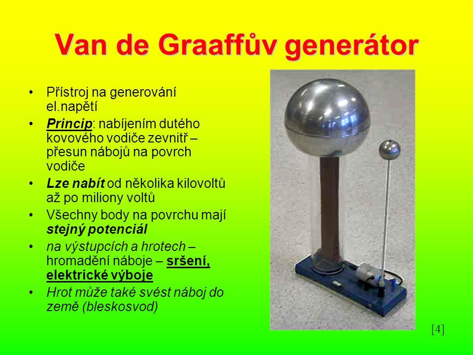Van de Graaffův generátor